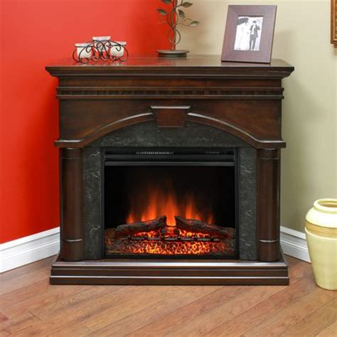 muskoka 23 quot view electric fireplace with corner