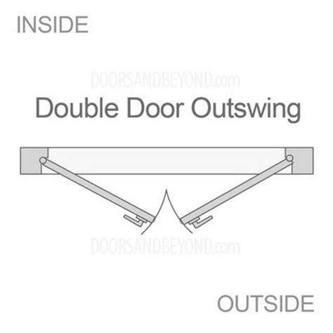 interior door swing direction double doors swing direction outswing door swing