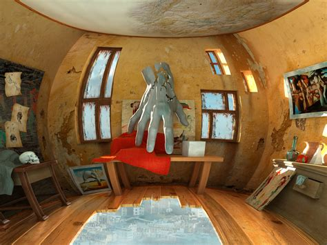 Surreal Interiors by Workshop Digital Artwork Surrealism