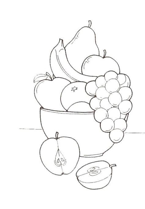 Coloring Page Vegetables And Fruit by Free Coloring Pages Of Fruit And Vegetables