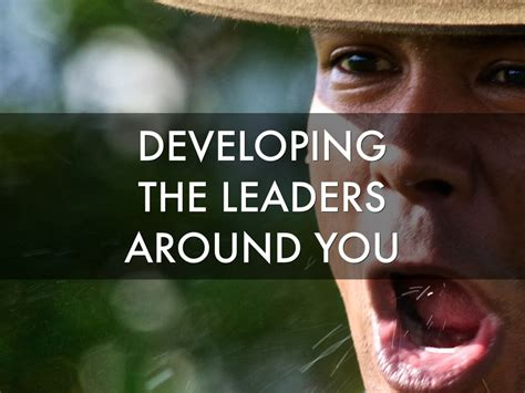 Developing The Leaders Around You developing the leaders around you by david diaz