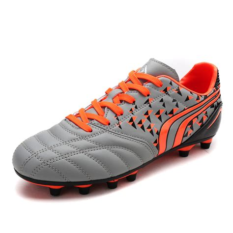 outdoor soccer shoes for 160860 athletic lace up light weight outdoor cleats