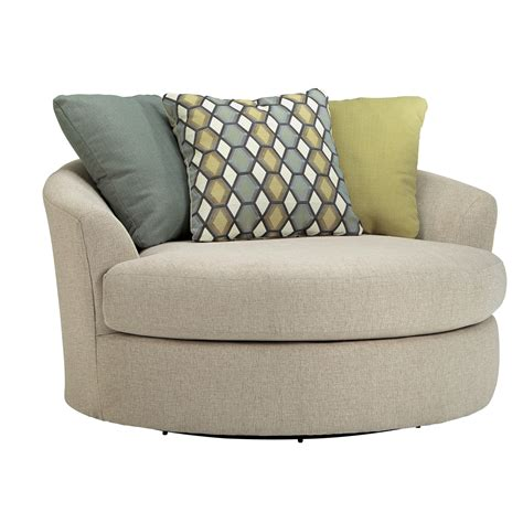 latitude run bradfield oversized swivel barrel chair reviews wayfair