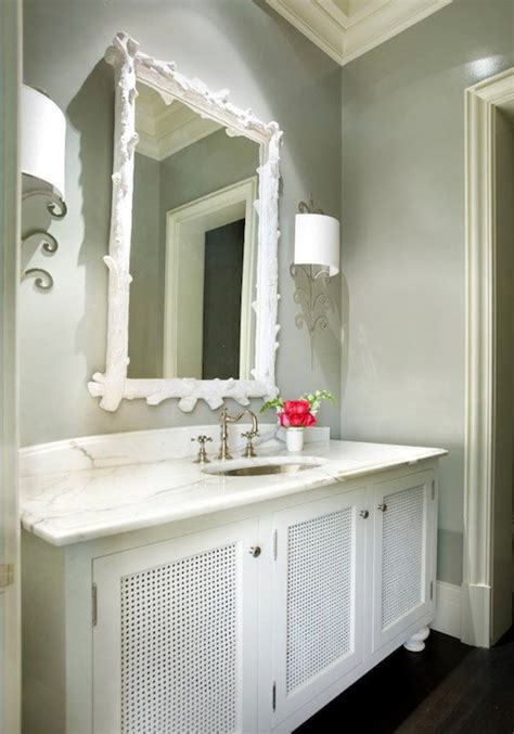 grey and white bathroom contemporary bathroom