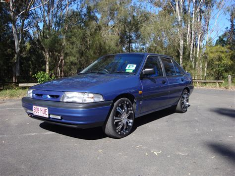 Ford Laser 1993 by 1993 Ford Laser Gl Kh Boostcruising