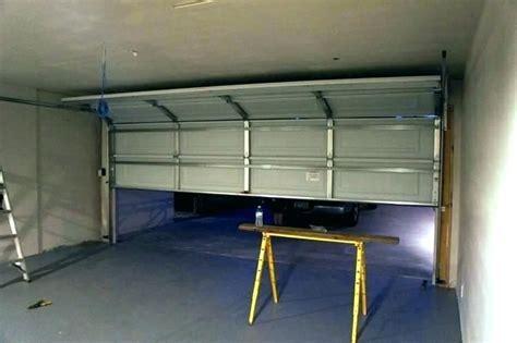 garage door motor installation cost   garage door
