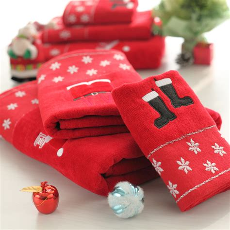 shop popular christmas towel set from china aliexpress