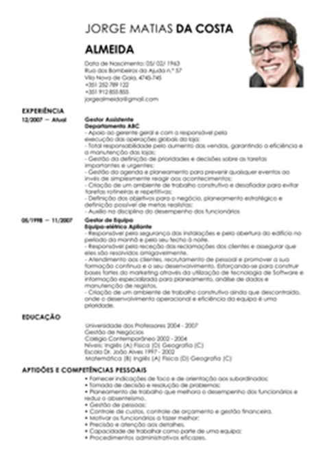 Modelo De Curriculum Vitae Gerente Administrativo Modelo De Curriculum Gestor Assistente Exemplo De Cv Assistente Administrativo Livecareer