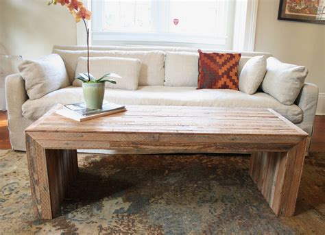 rustic living room tables hand made the jackson table modern yet rustic coffee table