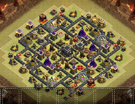 home base th 9 terbaik november 2016 top 20 best th9 war base layouts 2018 new anti 2 stars