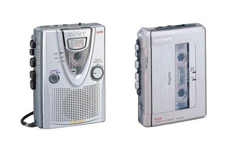 registratore a cassetta sony pensiona gli ultimi registratori a cassetta tom s