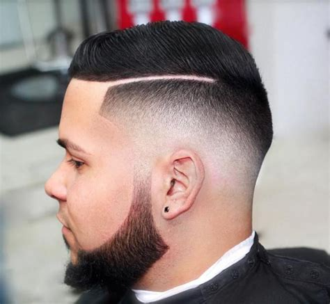 gentlemen fade taper fade haircut for classical and trendy gentlemen