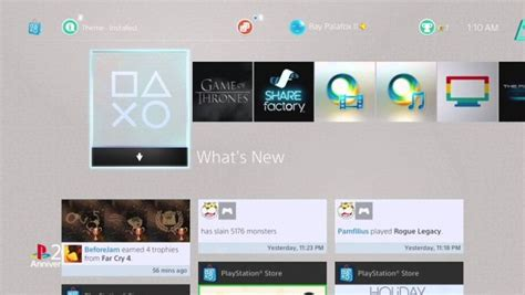 ps4 themes for psp sony releases new psone theme cheat code central
