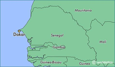 where is senegal on the world map where is dakar senegal where is dakar senegal located