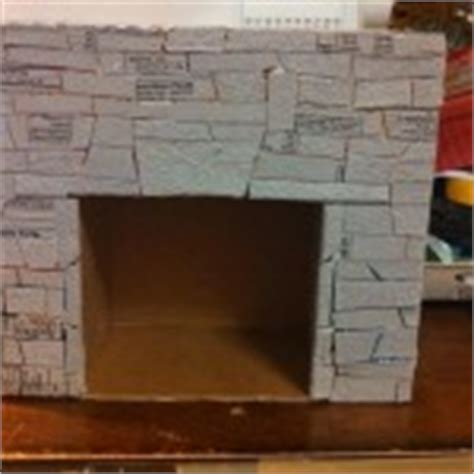 how to make a fireplace out of a bookshelf