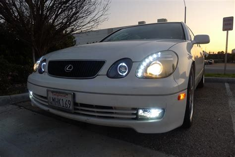 lexus gs300 jdm lexus gs300 gs400 gs430 jdm black led drl projector
