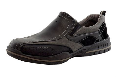 mens memory foam sneakers skechers s relaxed fit vorlez conven memory foam black
