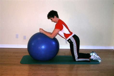 superman takeoff   exercise ball