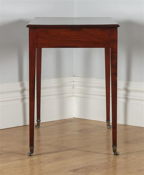 Side Table For Hallway Antique Georgian Regency Mahogany Occasional Side Table Circa 1820 Antique