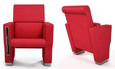 cinema armchair conference armchair can be equipped with writing tablet