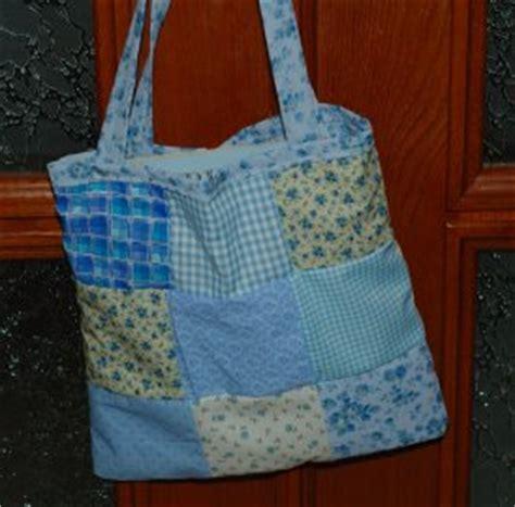 Easy Patchwork Bag Patterns - patchwork tote bag