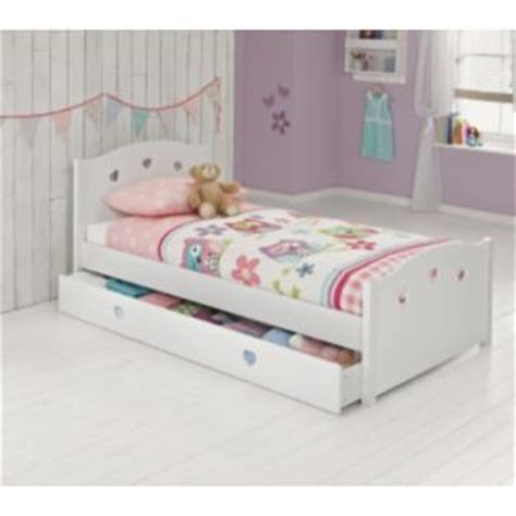 childrens single beds buy molly single bed frame white at argos co uk your