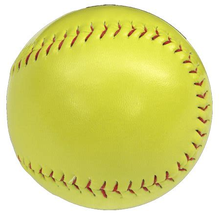 personalized yellow colored softballs featuring your