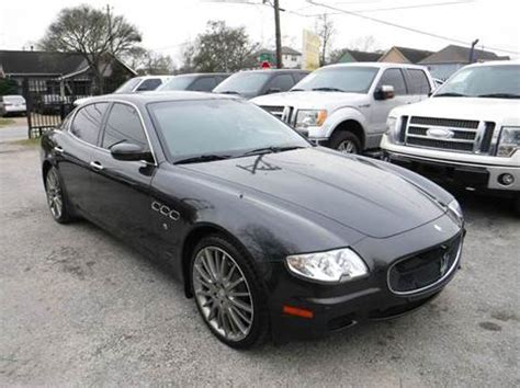 maserati 2007 for sale 2007 maserati quattroporte for sale carsforsale