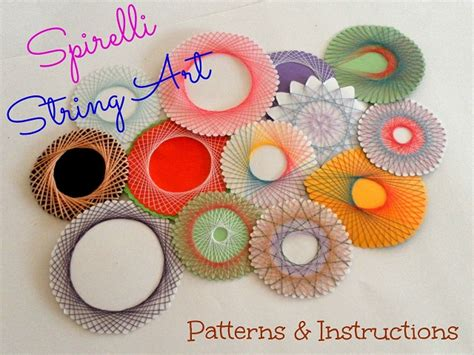 Spirelli String - spirelli string patterns and 187 paper