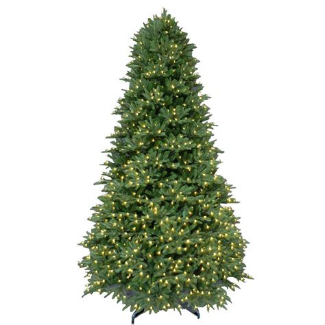 9 ft pre lit led balsam fir artificial christmas tree
