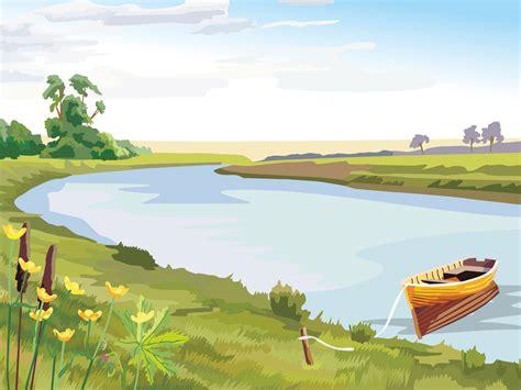 wallpaper pemandangan alam kartun 10 gambar pemandangan kartun