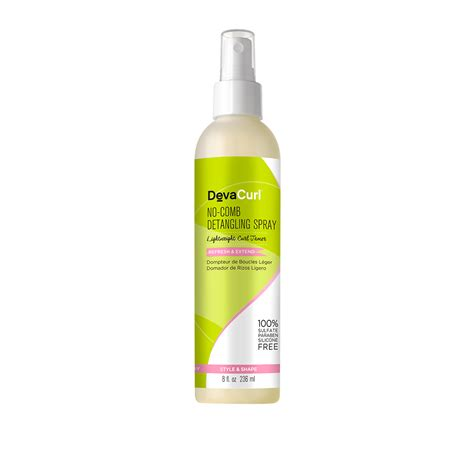 how to comb diva curl hair buy no comb detangling spray from devacurl hair products