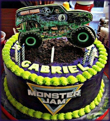 grave digger truck cake jam grave digger cake delicious desserts