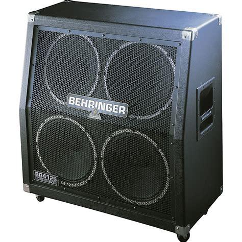 Behringer Ultrastack Bg412s 4x12 Stereo Cab With Jensen Behringer 4x12 Guitar Cabinet