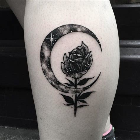 17 best ideas about crescent moon tattoos on pinterest
