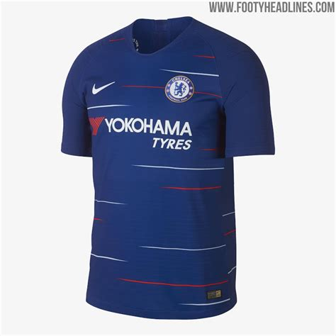 Jersey New Chelsea Home chelsea 18 19 home kit released footy headlines