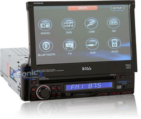 boss bvb  dash dvdcdmp radio  touchscreen monitor