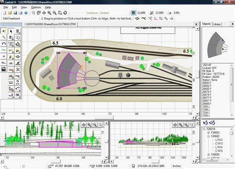 yard layout software sandia software cadrail model railroad layout design