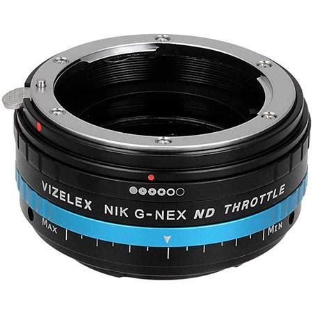 fotodiox vizelex nd mount adapter for nikon g lens to sony