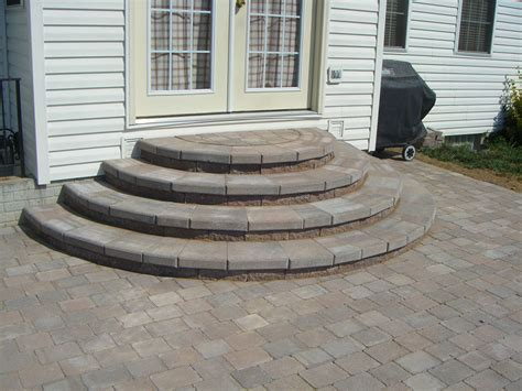 Paver Patio Steps Pavers Patio Ideas Paver Stairs Patio Paver Steps Design Ideas Interior Designs Suncityvillas