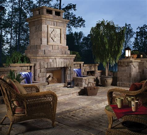 masonry outdoor fireplace get fired up for fall rocks with soul hedberg