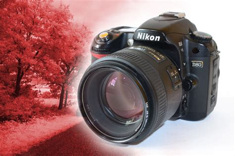 diy how to turn an nikon d80 into a permanent ir in four easy steps