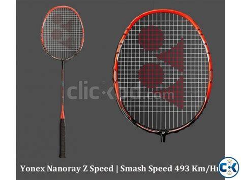 Raket Nanoray Speed ft yonex nanoray z speed badminton racket clickbd
