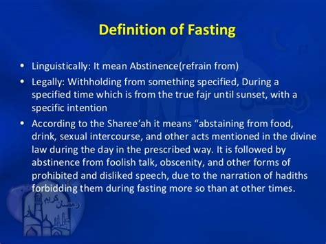 what is fasting fiqh of fasting june 2013