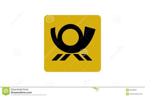 Posthorn Aufkleber by Vector Post Horn Stock Illustration Illustration Of