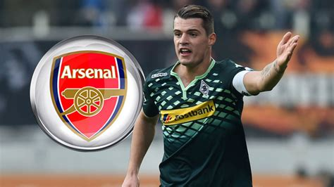 arsenal xhaka news arsenal close in on midfielder granit xhaka sky