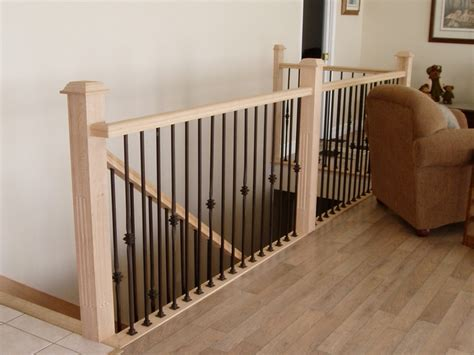 banister kits stair railing kits to add home security the furnitures