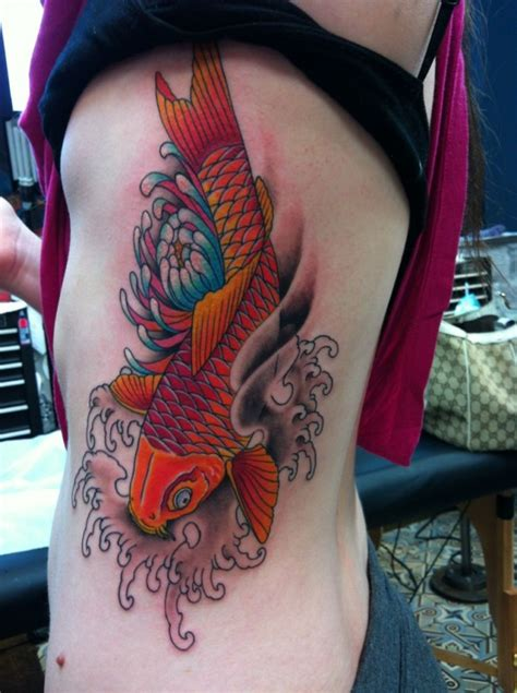 koi fish ami james