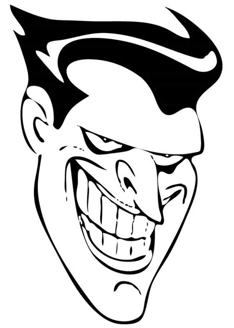 joker face coloring pages free coloring pages of joker faces