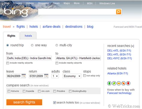 search air tickets flight fares and hotels with travel